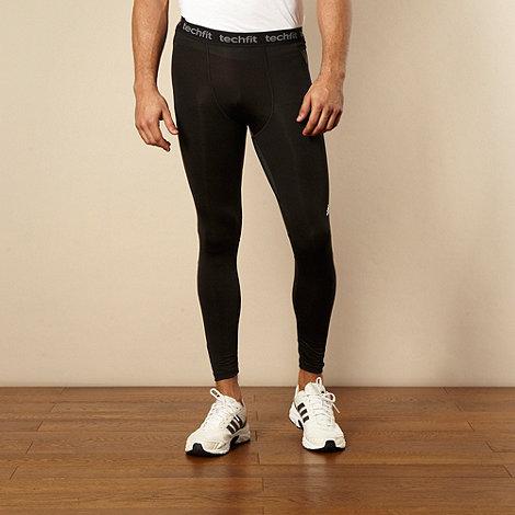 adidas - Black techfit +Formation+ cycle tights