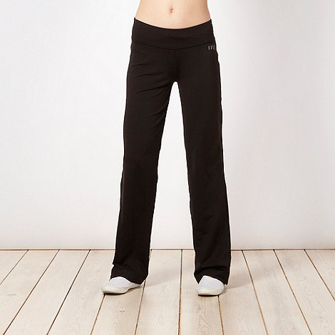 Elle Sport - Black slim fitting running pants