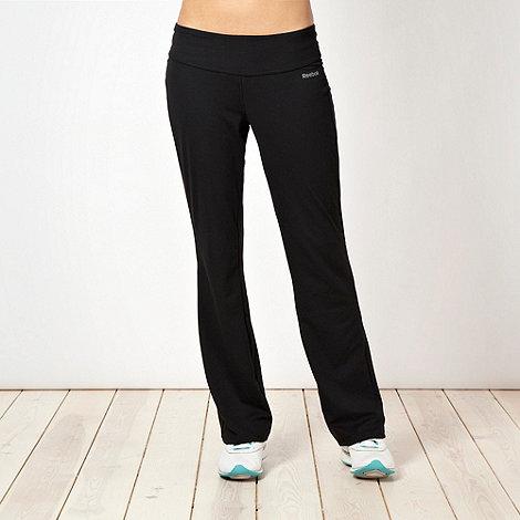 Reebok - Black slim leg jogging bottoms