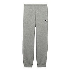 Puma - Boy's grey sweat jogging bottoms