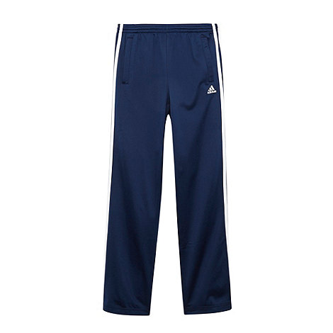 adidas - Boys+ navy essential jogging bottoms