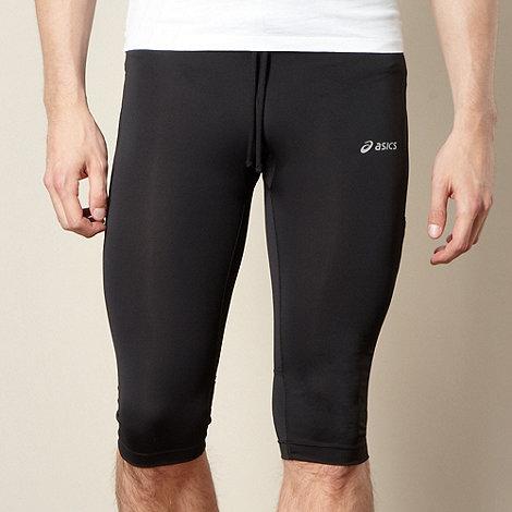 ASICS - Black knee length fitness trousers