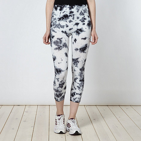 adidas - Black splatter leggings