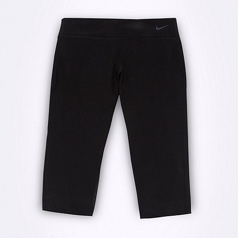 Nike - Girl+s black +Legend+ tight sports trousers