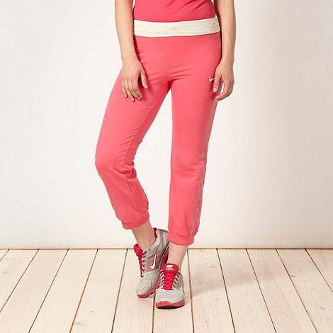 Nike - Pink cuffed jogging bottoms
