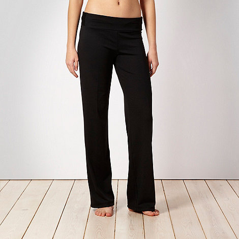 adidas - Black slim leg jogging bottoms
