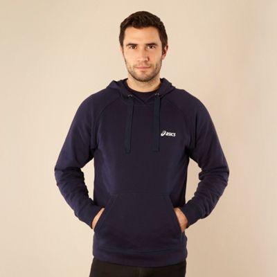 AIC Navy branded weat hoodie - . -