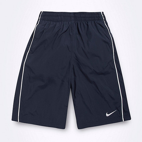 Nike - Boy+s navy swim shorts