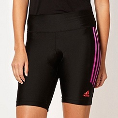 adidas - Black 'Response' Formation cycle shorts