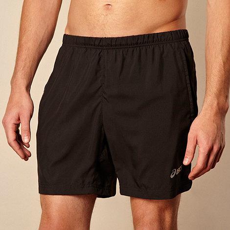 ASICS - Black +Hermes+ woven shorts