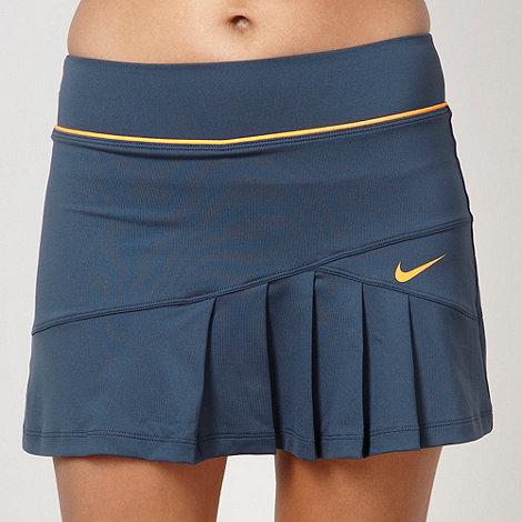 Nike - Blue pleated sports skirt