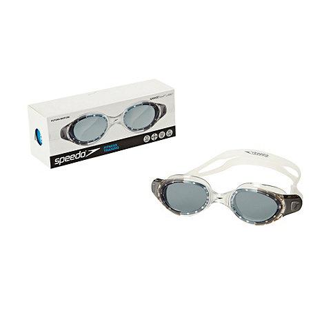 Speedo - Silver +Futura Biofuse+ swimming goggles