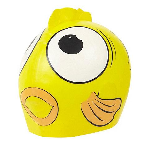 Speedo - Children+s yellow character swim cap