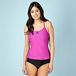 adidas - Purple and black tankini set