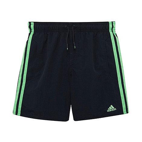 adidas - Boys+ navy essential board shorts
