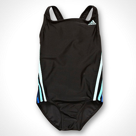 adidas - Girl+s black one piece swimsuit