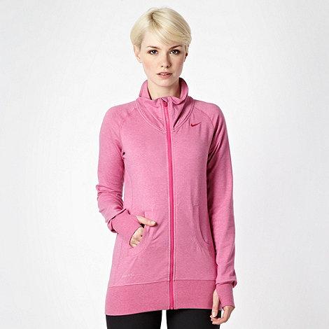Nike - Pink zip through sweater