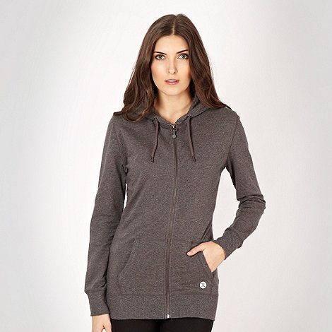 XPG by Jenni Falconer - Dark grey longline fitness hoodie