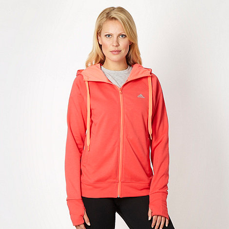 adidas - Coral zip through hoodie
