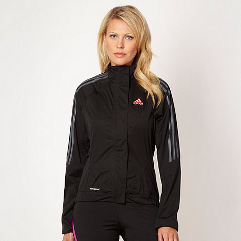 adidas - Black +Climaproof+ cycling tour rain jacket