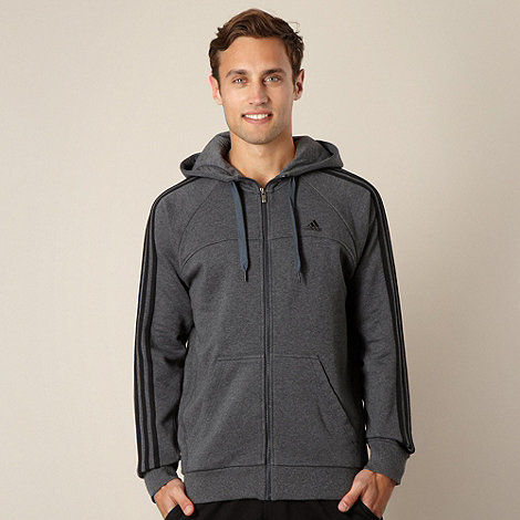 adidas - Grey hooded jacket