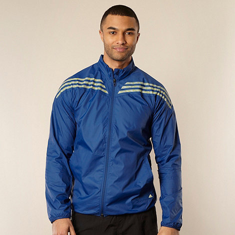 adidas - Navy lightweight wind proof jacket