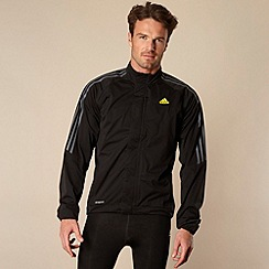 adidas - Black 'Climacool' cycling tour rain jacket