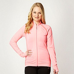 Elle Sport - Pink perforated panel jacket