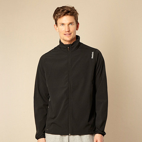 Reebok - Black zip through wind jacket
