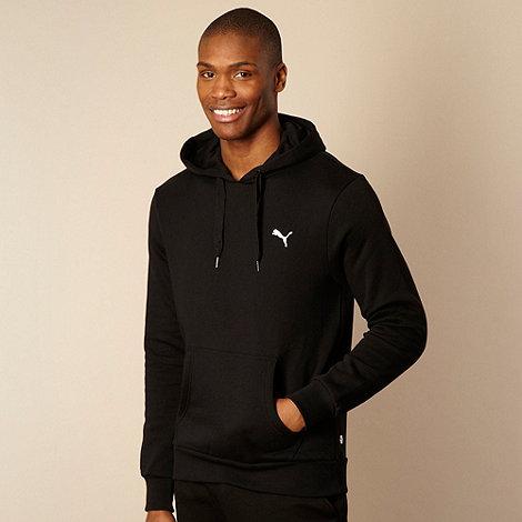 Puma - Black logo hoodie