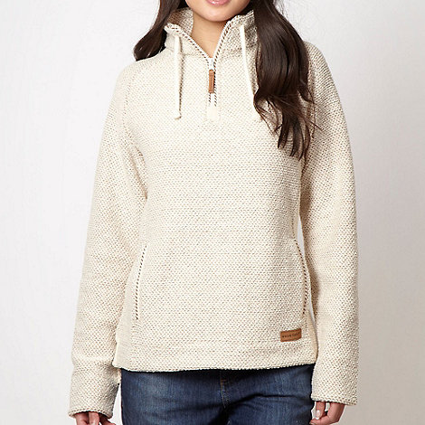 Weird Fish - Cream textured pull over top