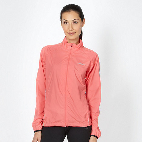 ASICS - Coral mesh panelled running jacket