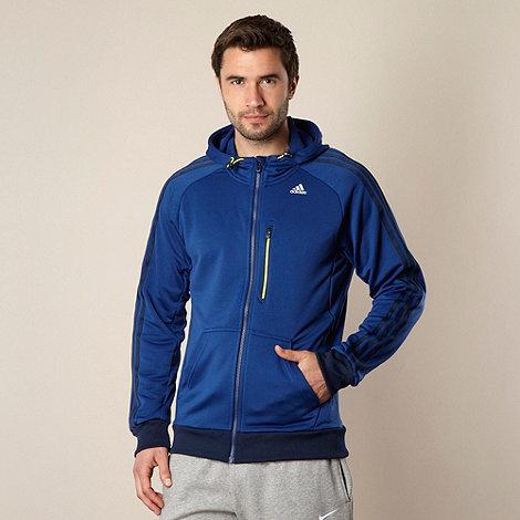 adidas - Blue +365+ sweat hoodie