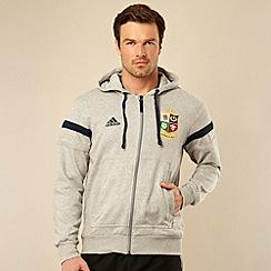 adidas - British & Irish Lions' grey hoodie