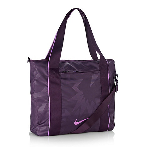 Nike - Purple +Legend Track+ tote bag