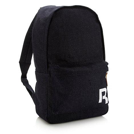 Reebok - Navy denim rucksack