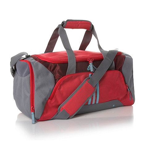 adidas - Grey colour blocked holdall