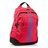 Adidas pink canvas back pack