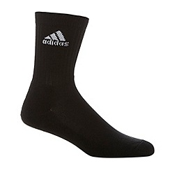 adidas - Pack of three black sports socks
