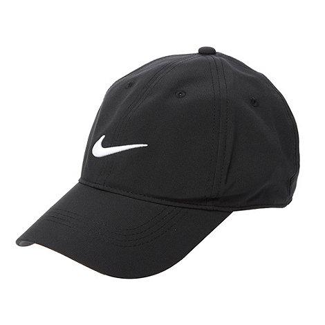 Nike - Black embroidered logo baseball cap