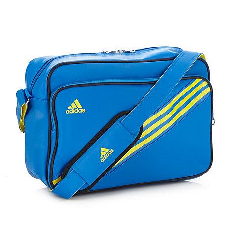 adidas - Blue +Enamel 3+ messenger bag