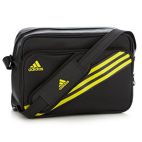 adidas - Black +Enamel 3+ messenger bag
