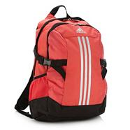Adidas red 'Power II' backpack