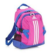 Adidas girl's pink 'Power II' backpack