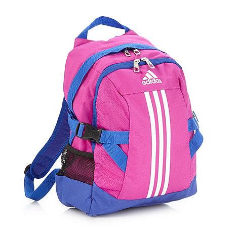 adidas - Girl+s pink +Power II+ backpack