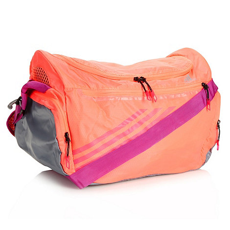 adidas - Pink neon packable holdall