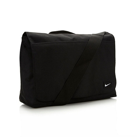 Nike - Black canvas messenger bag