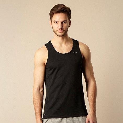 Nike - Black logo tank top