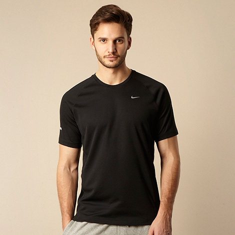 Nike - Black logo short sleeve t-shirt