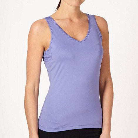 XPG by Jenni Falconer - Lilac v-neck vest top